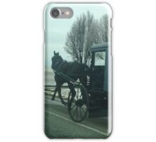 Amish Horse and Buggy iPhone Case/Skin
