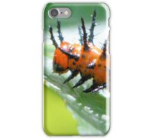 Gulf Fritillary Caterpillar  iPhone Case/Skin