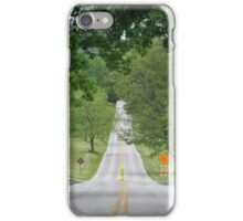 Valley Forge Park Road iPhone Case/Skin