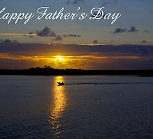 Strahan Harbour, Happy Father's Day by Steven Weeks