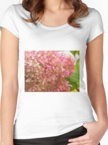Glorious Pink Blossoms Women's Fitted Scoop T-Shirt