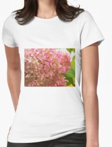 Glorious Pink Blossoms Womens Fitted T-Shirt