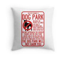 WTNV Dog Park Throw Pillow