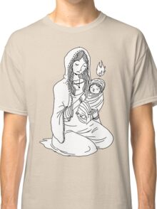Mary and Child. Classic T-Shirt