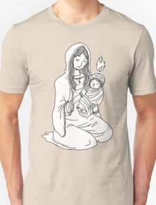 Mary and Child. T-Shirt