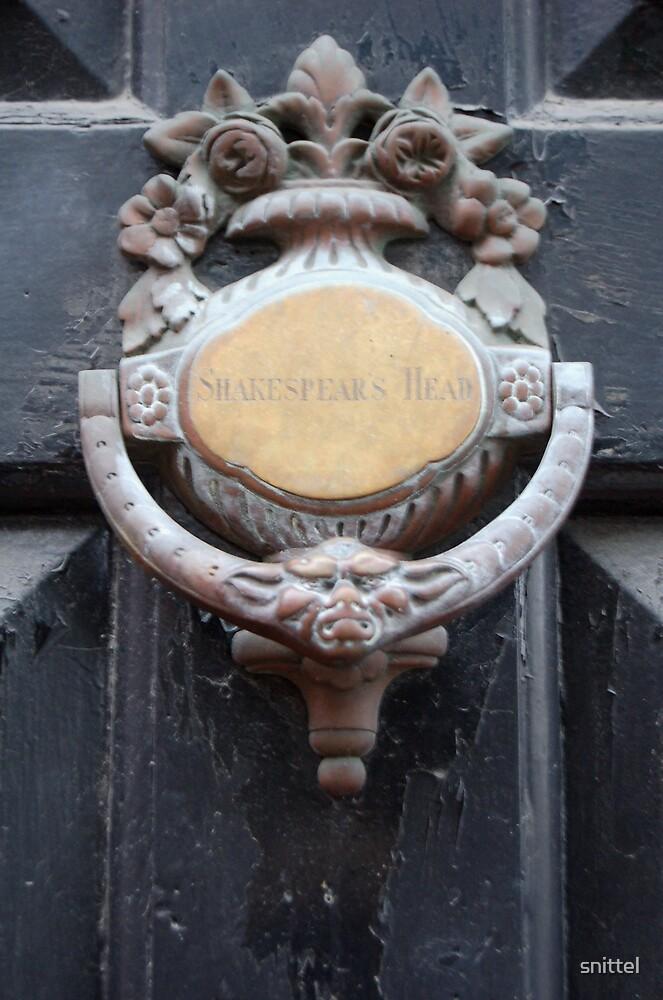 Shakespears Head by snittel