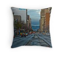 Currie at Night Throw Pillow