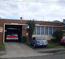 Unanderra 474 Fire Station by roybob