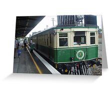 Motor Rail Taree Greeting Card