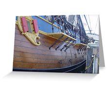 HM Bark Endeavour, Port Macquarie Greeting Card