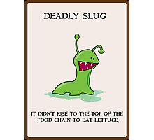 Deadly Slug Photographic Print