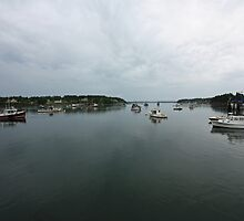 Port Clyde, Maine by Rebecca Brann