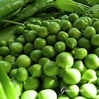 Fresh Green Peas by MsGourmet