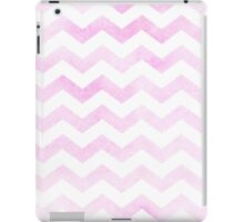 Chevron in bubblegum pink. iPad Case/Skin
