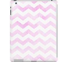 Chevron in bubblegum pink. iPad Case/Skin