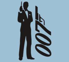 James bond - 007 Kids Clothes