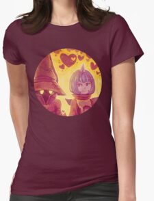 Final Fantasy IX - Eiko and Vivi Womens Fitted T-Shirt