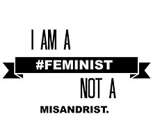 I Am A Feminist Not A Misandrist by elysianjay