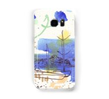 Two Kayaks on the Bay Samsung Galaxy Case/Skin
