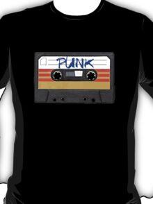 PUNK Music Cassette Tape T-Shirt