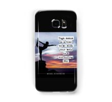 Yoga Asana is Nurturing Samsung Galaxy Case/Skin