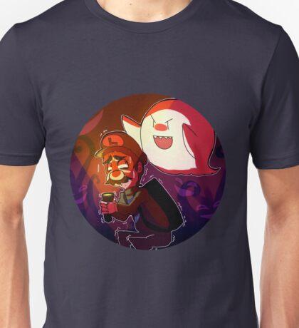 Luigi's mansion (Boo!) Unisex T-Shirt