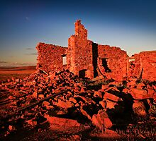 Ruins at Sunset by Karyn Knight