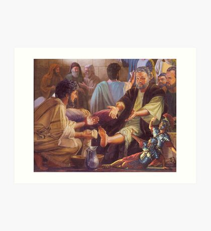 Mat Blackwell - The Odour That Makes Midget Warriors Weep... Art Print