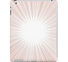 Screen Tone- Red iPad Case/Skin