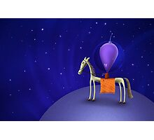Horse Rider Photographic Print