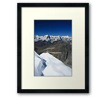 Mount Rushless Framed Print