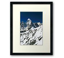 Ridge beyond Ridge Framed Print