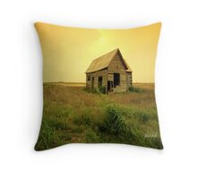 Prairie Home Throw Pillow