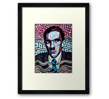 Ron Mael is awesome Framed Print