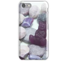 Candy Rainbow: Violet 1 iPhone Case/Skin
