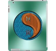 Pisces & Tiger Yang Wood iPad Case/Skin
