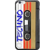 Techno Music Cassette Tape iPhone Case/Skin