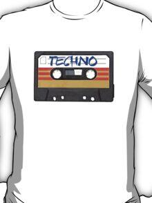 Techno Music Cassette Tape T-Shirt