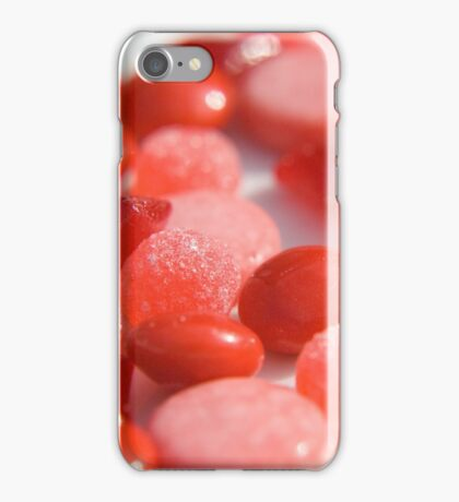 Candy Rainbow: Red 2 iPhone Case/Skin