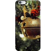 Ring, Christmas Bell iPhone Case/Skin