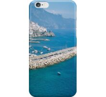 Amalfi from above iPhone Case/Skin