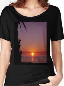 Brilliant Sunrise Women's Relaxed Fit T-Shirt