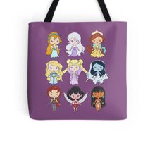Lil' CutiEs - Alternate Princesses Group One Tote Bag