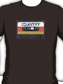 Country Cassette Tape T-Shirt