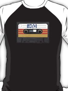 EDM - Electronic Dance Music cassette tape T-Shirt
