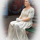Queen visiting Drouin, Gippsland, Australia by Bev Pascoe