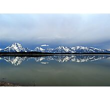 Jackson Lake in the dawn light Photographic Print