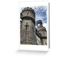 Towering Crenulations Greeting Card