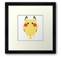 Cute Pika Framed Print