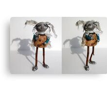 """B"" is for Bunny - sculpture,art doll Canvas Print"